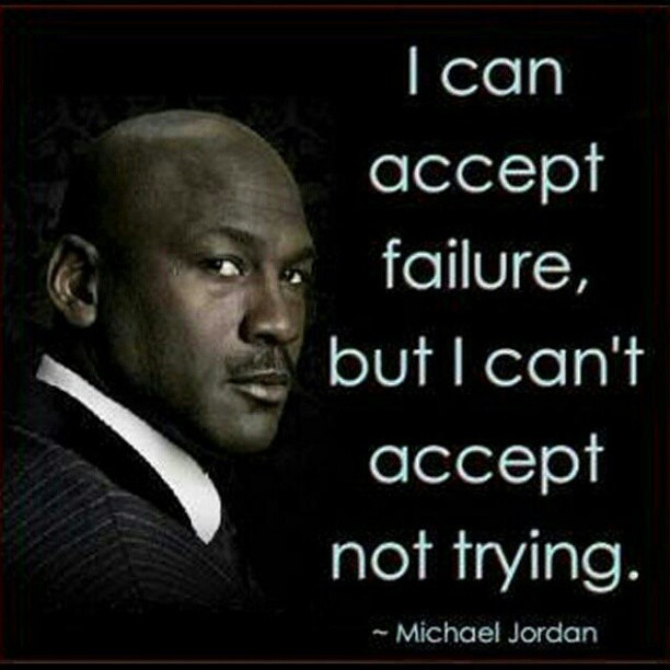 Michael Jordan Quotes: Quotes On Trying And Failing. QuotesGram