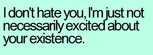 http://quotespictures.com/wp-content/uploads/2013/07/i-dont-hate-you-im-just-not-necessarily-excited-about-your-existence-sarcasm-quote.jpg