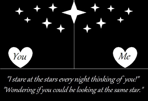 Image of: Sad Quotes Stare At The Stars Every Night Thinking Of You Wondering If You Could Quotespicturescom Stare At The Stars Every Night Thinking Of You Wondering If You