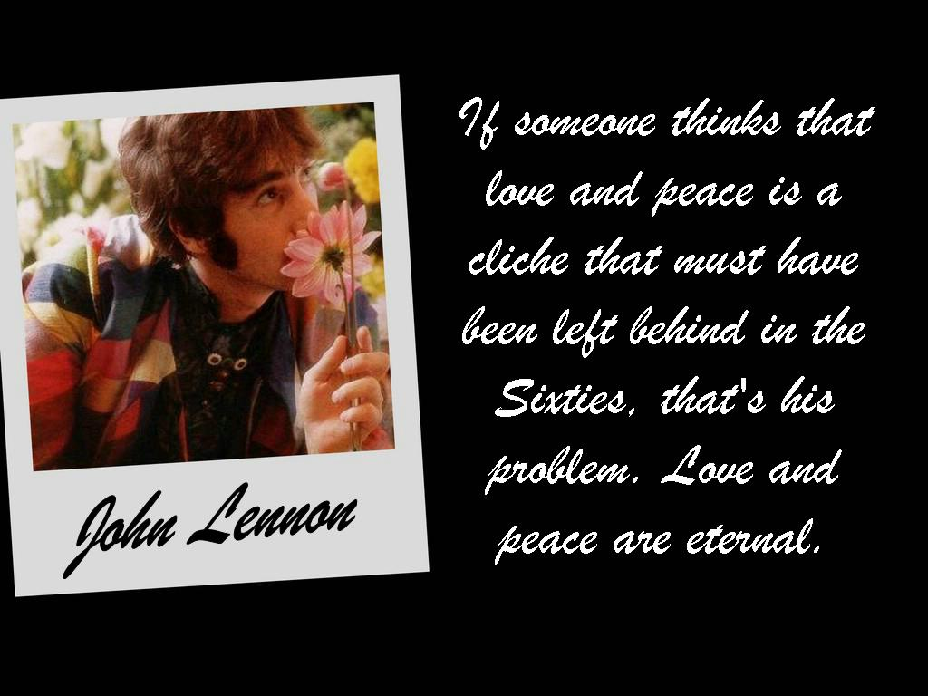 If Someone Thinks That Love And Peace Is A Quotespictures