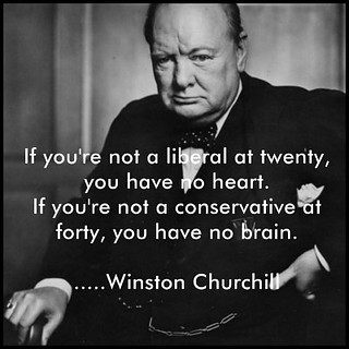 Winston Churchill Quotes Liberal Conservative
