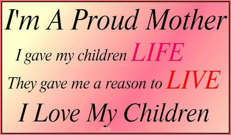 Kids Love Quotes : Love My Children Quotes For Facebook I love my children