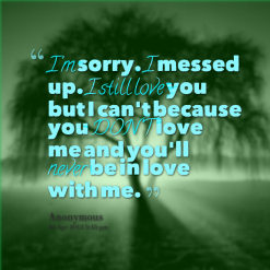 im sorry but i love you quotes - photo #7