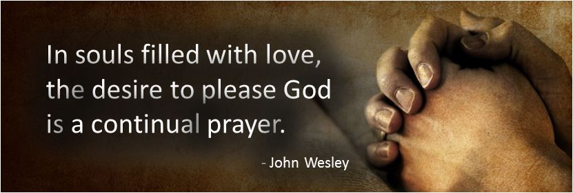 John Wesley Quote About Prayer