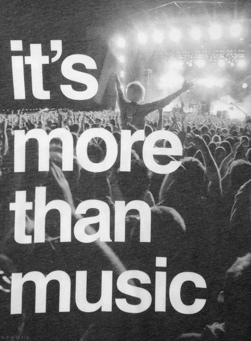 """ It's More Than Music """