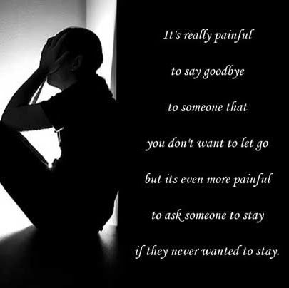 i want to let go