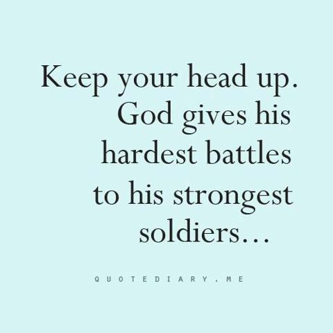 God Quotes About Love And Strength Pictures : ... To His Strongest Soldiers ? ~ Prayer Quote Prayer Quotes Pictures