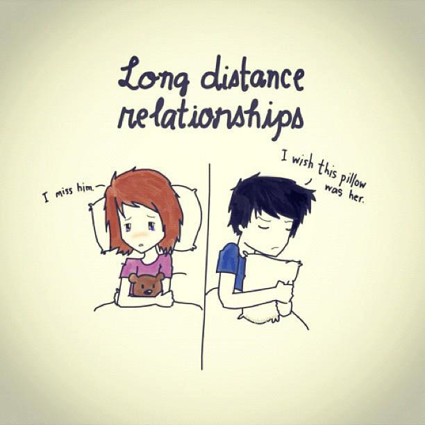 Cute Long Distance Pillow : Missing Him Quotes. QuotesGram