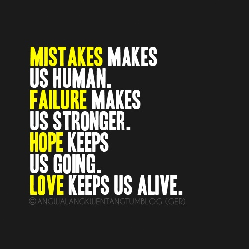 Quotes About Love Mistakes : Mistake Quotes Images (656 Quotes) : Page 41 ? QuotesPictures.com