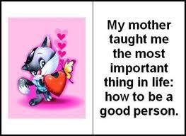 why mother is important to me