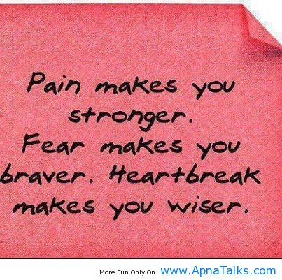 Strong Life Quote – Mistakes Me Wiser And Pain Makes Me Stronger ...