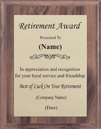 funny retirement sayings for plaques just b cause