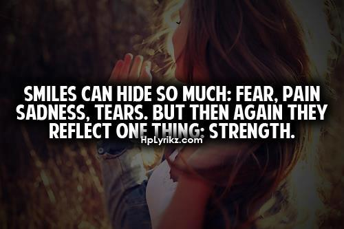 Quotes About Smiling Through Sadness. QuotesGram