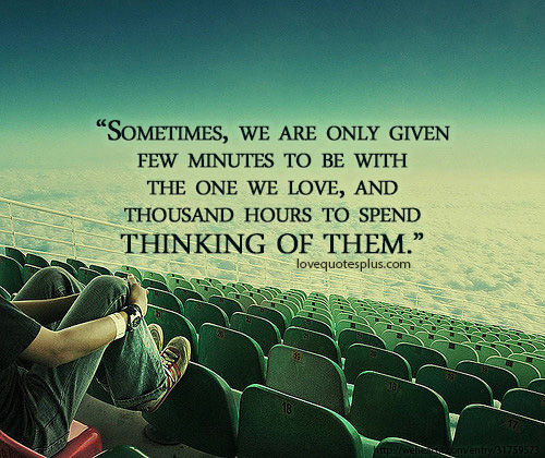 """""""Sometimes, We Are Only Given Few Minutes To Be With The"""