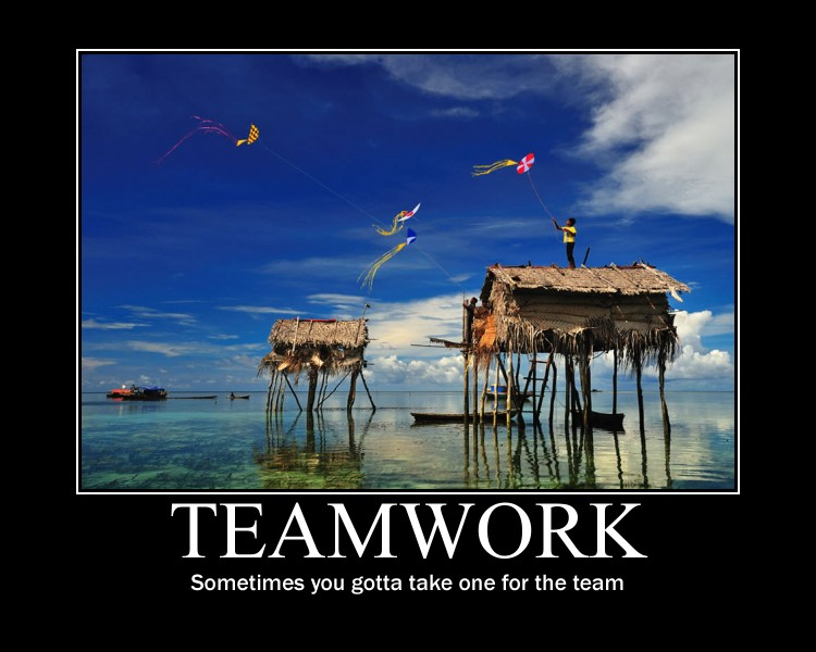 Funny Team Quotes: Funny Teamwork Quotes. QuotesGram