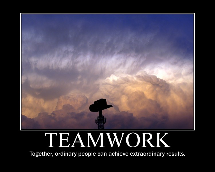 Teamwork, Together, Ordinary People Can Achieve