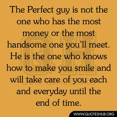 is he the right guy for you
