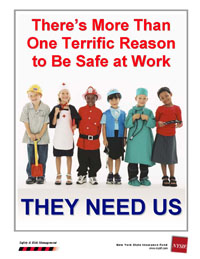 There's More Than One Terrific Reason To Be Safe At Work, They