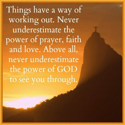 Quotes About Faith And Prayer. QuotesGram Prayer Quotes For Love