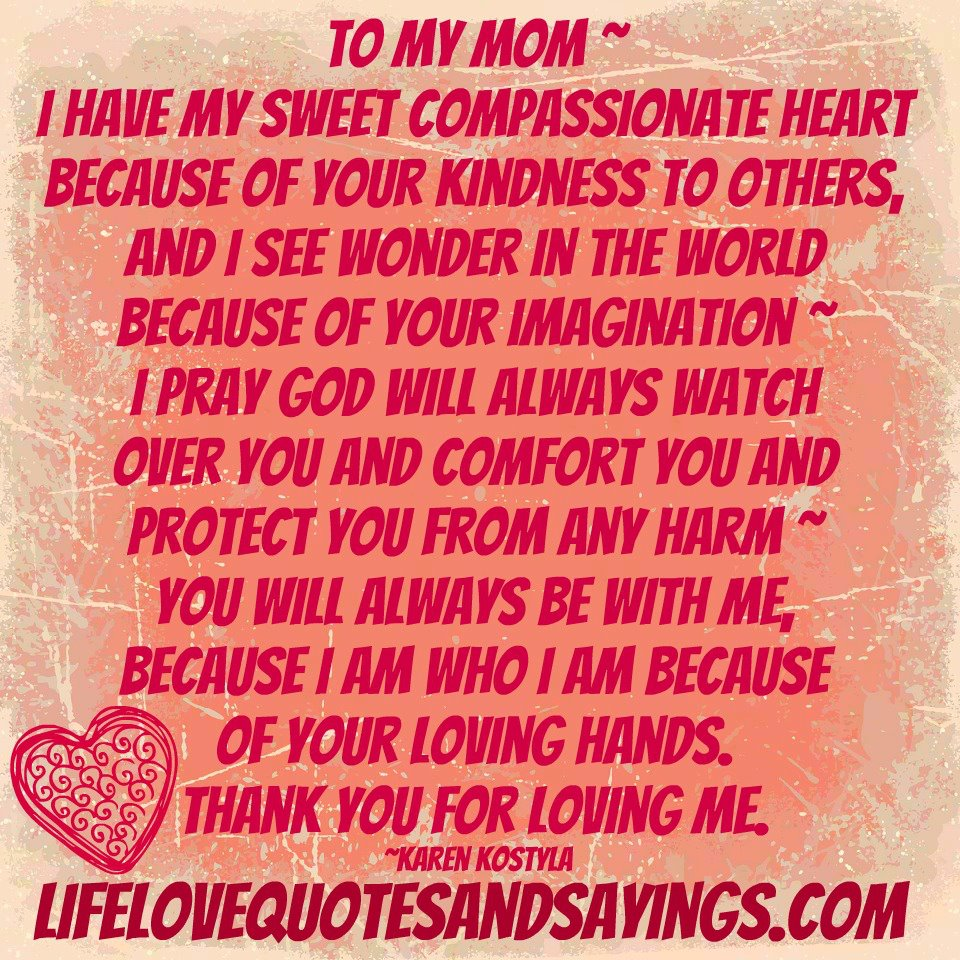 The Love I Have For You Quotes I Love You Quotes To Mom  Dobre For