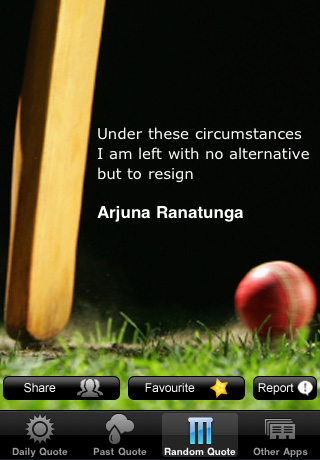 Under These Circumstances I am Left With No Alternative ...