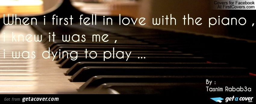 When I First Fell In Love With The Piano, I Knew It Was Me