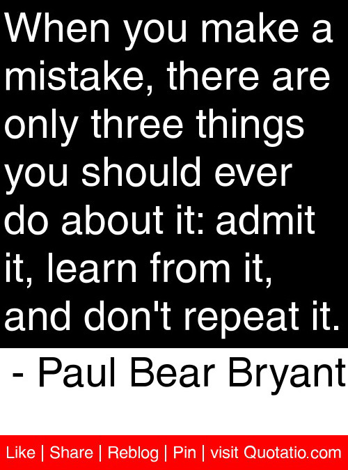 Quotes About Repeating Mistakes Quotesgram