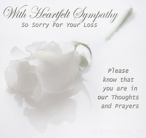Prayer Quotes For Death In Family: You Are In Our Thoughts And Prayers Quotes. QuotesGram