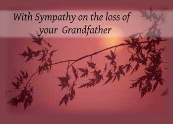 quotes about loss of grandfather quotesgram