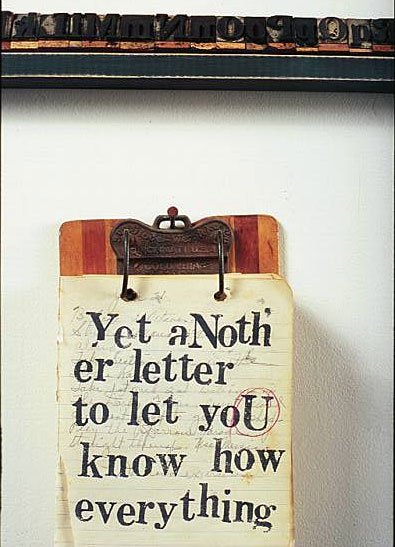 """Yet Another Letter To Let You Know How Everything"" ~ Missing You Quote"