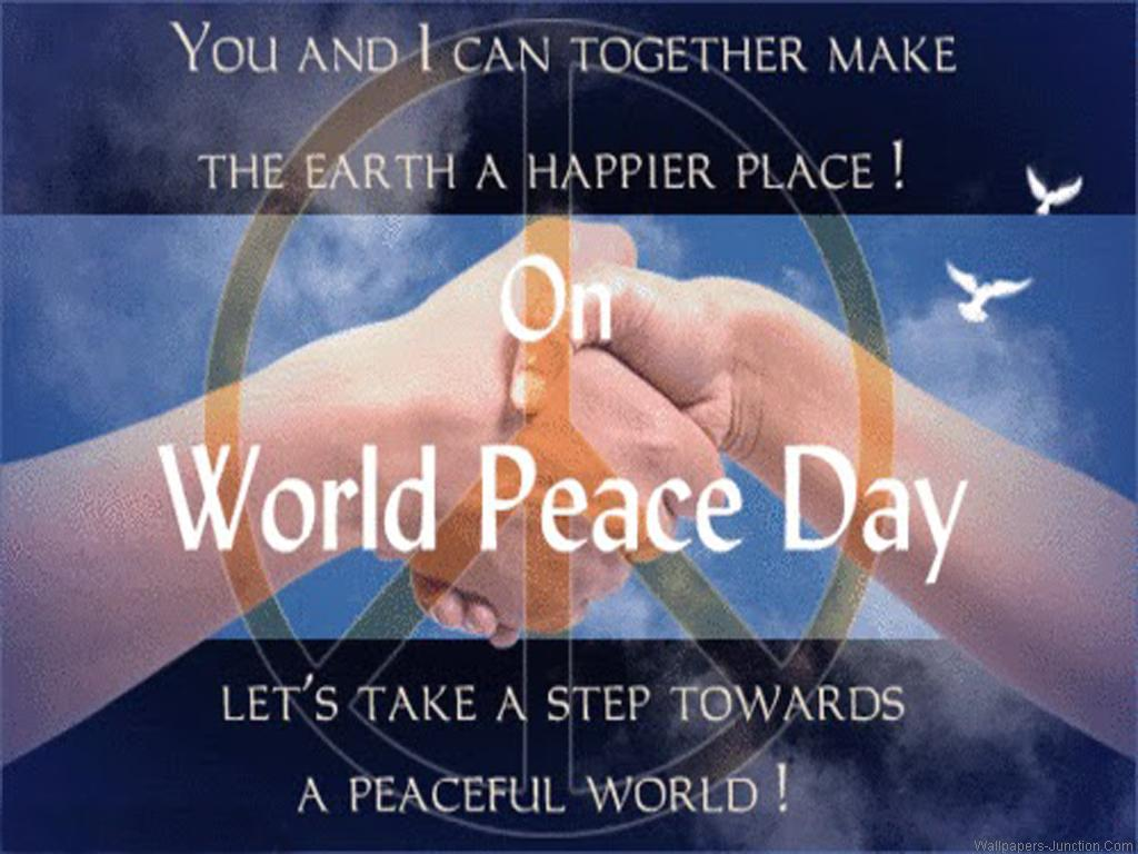 You And I Can Together Make The Earth A Happier Place On World