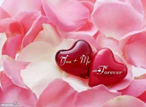 You + Me  = Forever ~ Missing You Quote