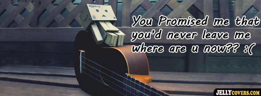 """ You Promised Me That You'd Never Leave Me Where Are U Now ""   ~ Sad Quote"