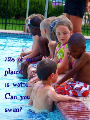 75% Of One Planet Is Water Can You Swim!