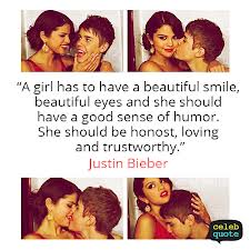 """""""A Girl Has To Have A Beautiful Smile, Beautiful Eyes And She Should Have A Good Sense Of Humor. She Should Be Honost, Loving And Trustworthy"""""""