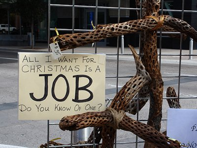 All I Want For Christmas Is A Job Do You Know Of One