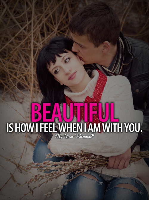 When I AM with You Romantic Quotes