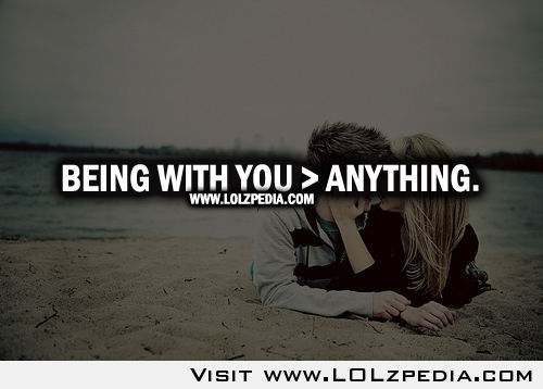 Being With You Anything