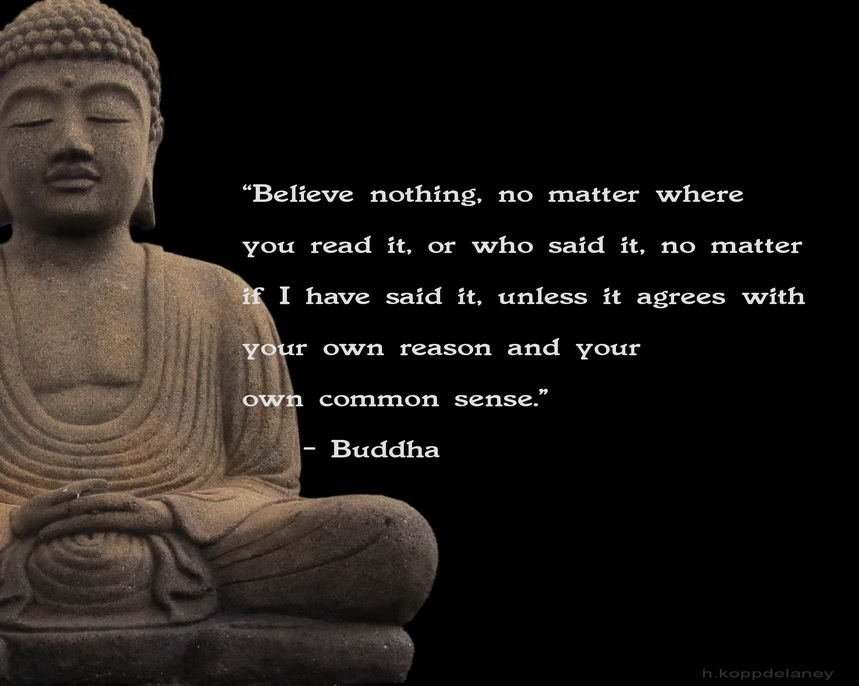 Believe Nothing, No Matter Where You Read It