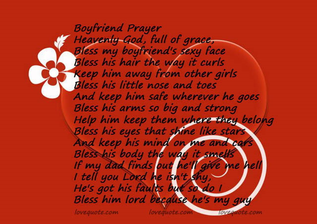 Boyfriend Prayer Heavenly God