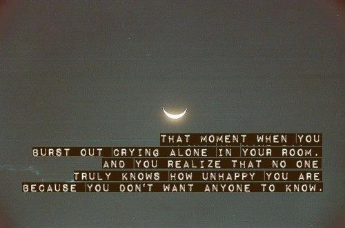 Broken Heart quote Sayings Crying Alone