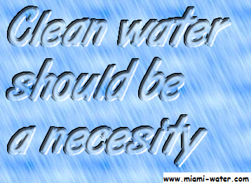 Clean Water Should Be A Necessity