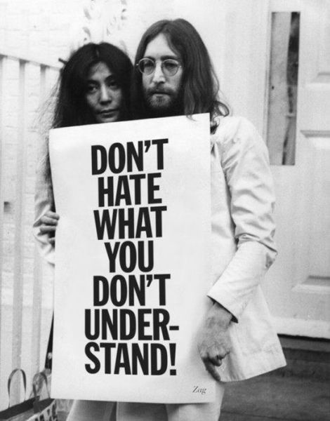 Don't Hate What You Don't Under Stand!