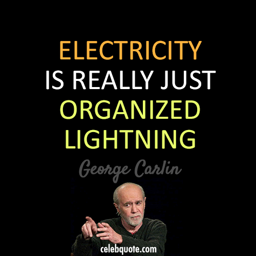 Electricity Is Really Just Organized Lightning