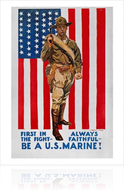 First In The Fight Always Faithful Be A U.S Marine