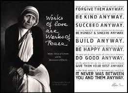 Forgive Them Anyway, Be Kind Anyway