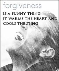 Forgiveness Is A Funny Thing, It Warms The Heart And Cools The Sting ~ Apology Quote