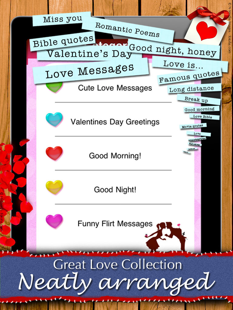Great Love Collection Neatly Arranged
