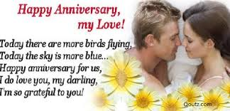 Happy Anniversary My Love!