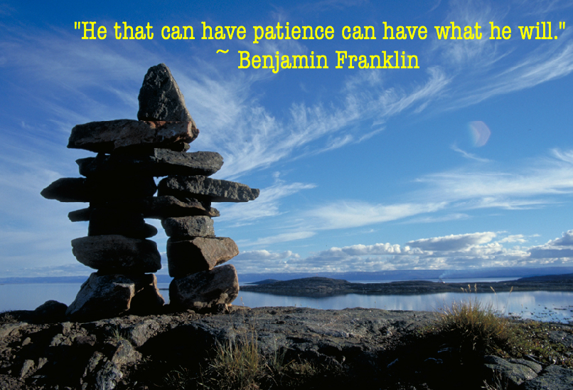 """He That Can Have Patience Can Have What He Will"""